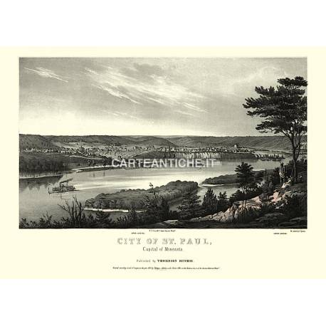 City of Saint Paul, Minnesota (1853)