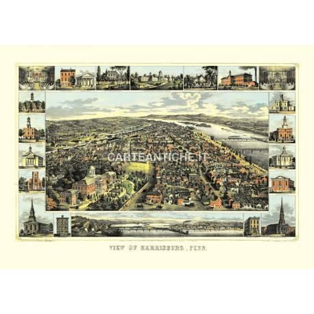 Harrisburg, Pennsylvania (1855)