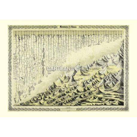Montagne e fiumi del mondo (1855).
