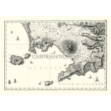 Campania, carta antica 03.