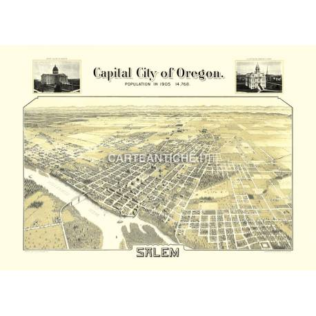 Salem, Oregon (1905)