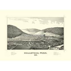Hallstead, Pennsylvania (1887)
