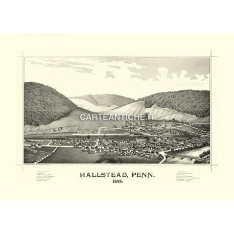 Hallstead, Pennsylvania (1887)