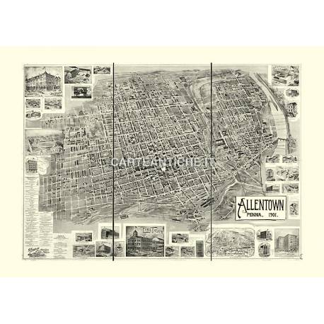 Allentown, Pennsylvania (1901)