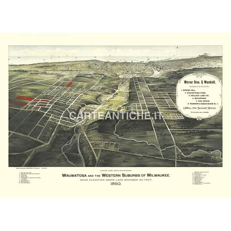 Wauwatosa, Wisconsin (1892)