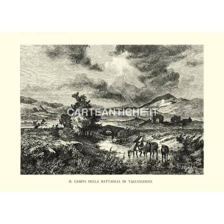 Il campo della battaglia di Tagliacozzo.