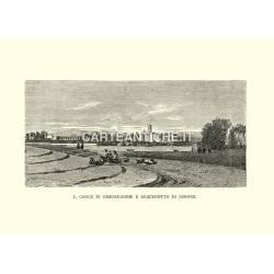 S. Croce in Gerusalemme e acquedotto di Nerone.