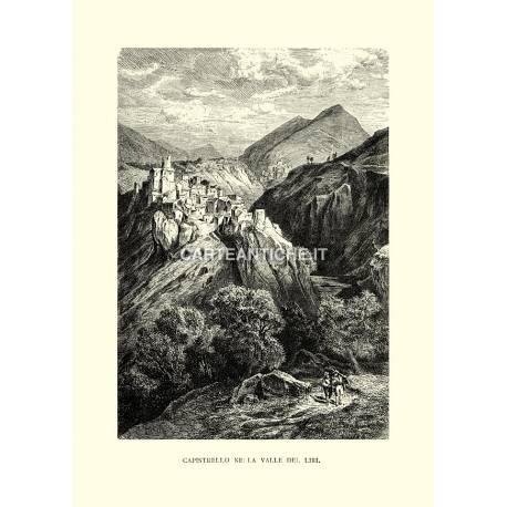 Capistrello nella valle del Liri.