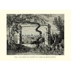 Roma - Dal giardino del convento di S. Sabina sul monte Aventino.