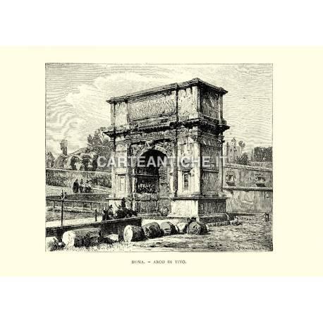 Roma: Arco di Tito (dx)