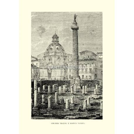 Colonna Trajana e Basilica Ulpiana.