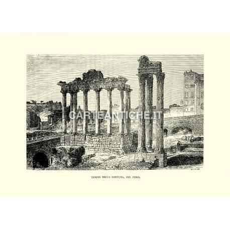 Tempio della Fortuna, nel Foro.