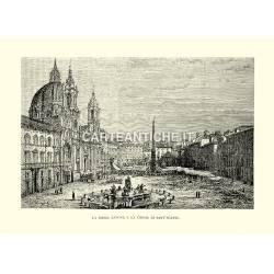 Piazza Navona e la Chiesa di Sant'Agnese