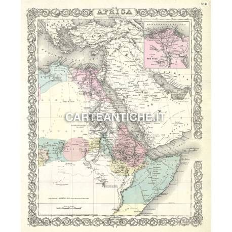 Carta antica: Africa 01