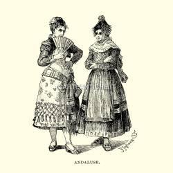 Costumi spagnoli: Andaluse
