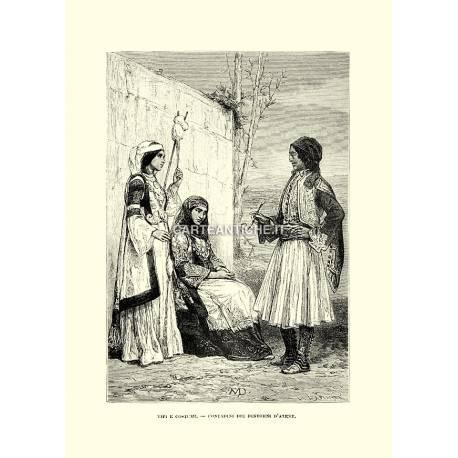 Contadini dei dintorni di Atene.