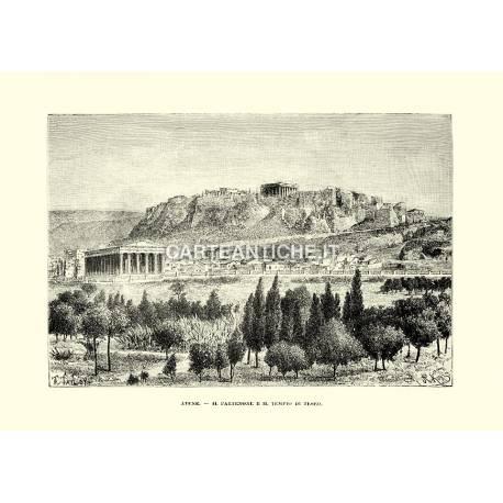 Partenone e tempio di Teseo (Atene)
