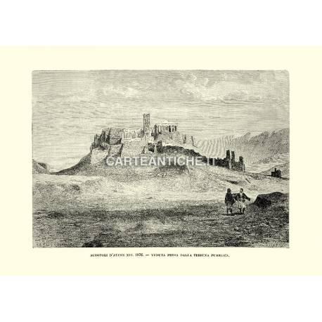 Acropoli d'Atene nel 1876. Veduta presa dalla tribuna pubblica.