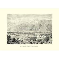 La Valle di Sparta e il Taigeto.