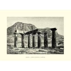 Corinto, Tempio di Minerva e Acropoli.