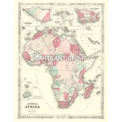 Carta antica: Africa 04 - Johnson 1864