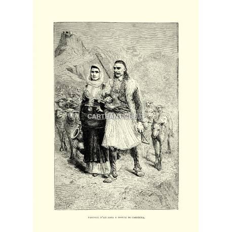Pastore d'Arcadia e donna di Caritena.