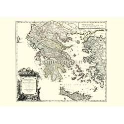 Graecia Vetus (Grecia antica 1752)