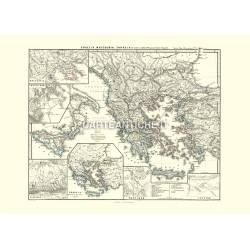 Grecia, Macedonia, Thracia (1865)