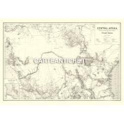 Carta antica: Africa 05 - J. Chavanne 1885