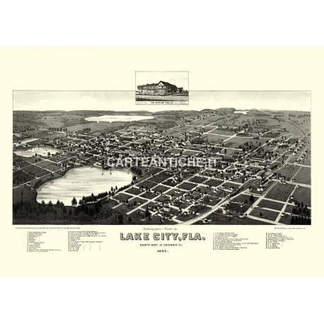 Lake City, Florida (1885).