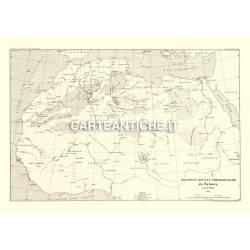 Carta antica: Africa 06 - E. Blanc 1889