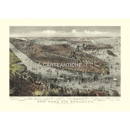 New York and Brooklyn (1875)