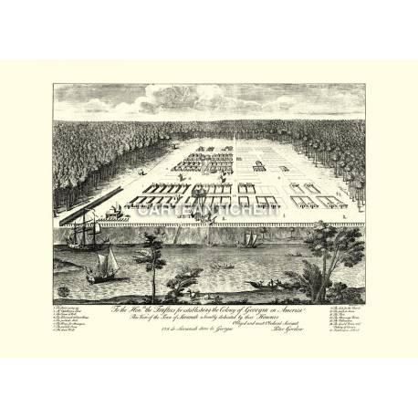 Savannah, Georgia (1734)