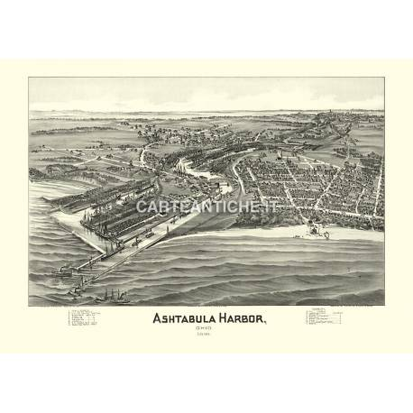 Ashtabula Harbor, Ohio (1896)