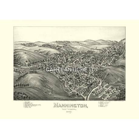 Mannington, West Virginia (1897)