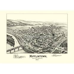 Mifflintown, Pennsylvania (1895)
