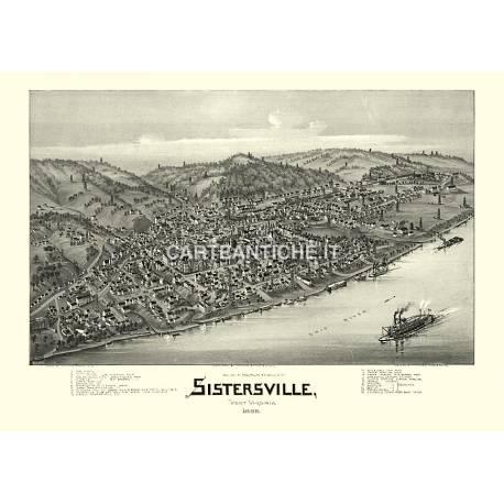Sistersville, West Virginia (1896)
