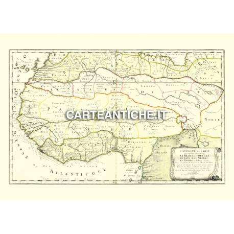 Carta antica: Africa 09 - N. Sanson 1679