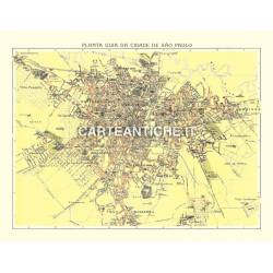Carta antica: Sud America 03 - San Paolo - Cococi 1913