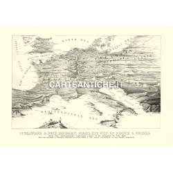 Carta antica: Europa 01 - Panoramica 1870