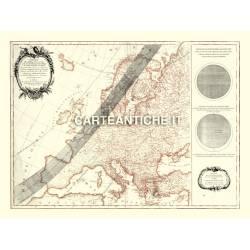 Carta antica: Europa 04 - Eclissi 1764
