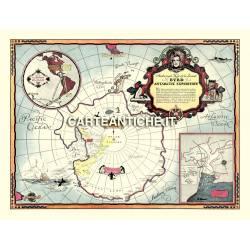 Antartide 01 - Mappa seconda Spedizione 1934
