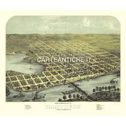 Veduta antica: USA 09 - Hastings, Minnesota - Ruger 1867