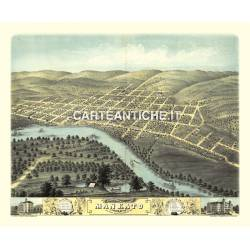 Veduta antica: USA 13 - Mankato, Minnesota - Ruger 1870