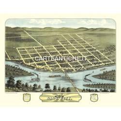 Veduta antica: USA 20 - Saku City, Wisconsin - Ruger 1870