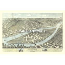 Veduta antica: USA 23 - Wheeling, Virginia ovest - Ruger 1871