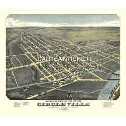 Veduta antica: USA 26 - Circleville, Ohio - Ruger 1876