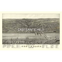 Veduta antica: USA - Cleveland, Ohio - Ruger 1877