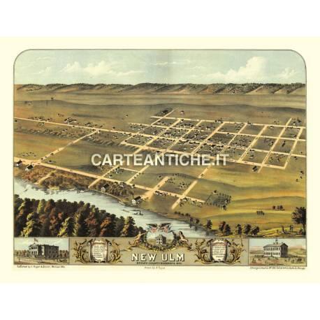 Veduta antica: USA - New Ulm, Minnesota - Ruger 1870