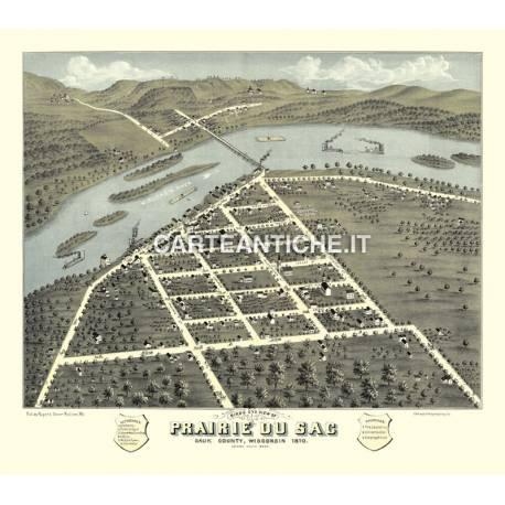 Veduta antica: USA - Prairie du Sac, Wisconsin - Ruger 1870
